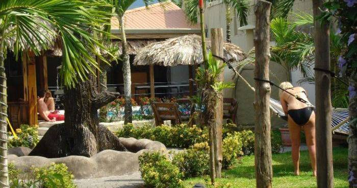 Make cheap reservations at a hotel like Arenal Hostel Resort