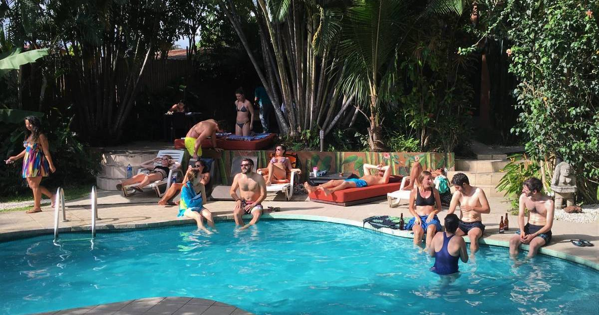 Make cheap reservations at a hotel like Costa Rica Backpackers