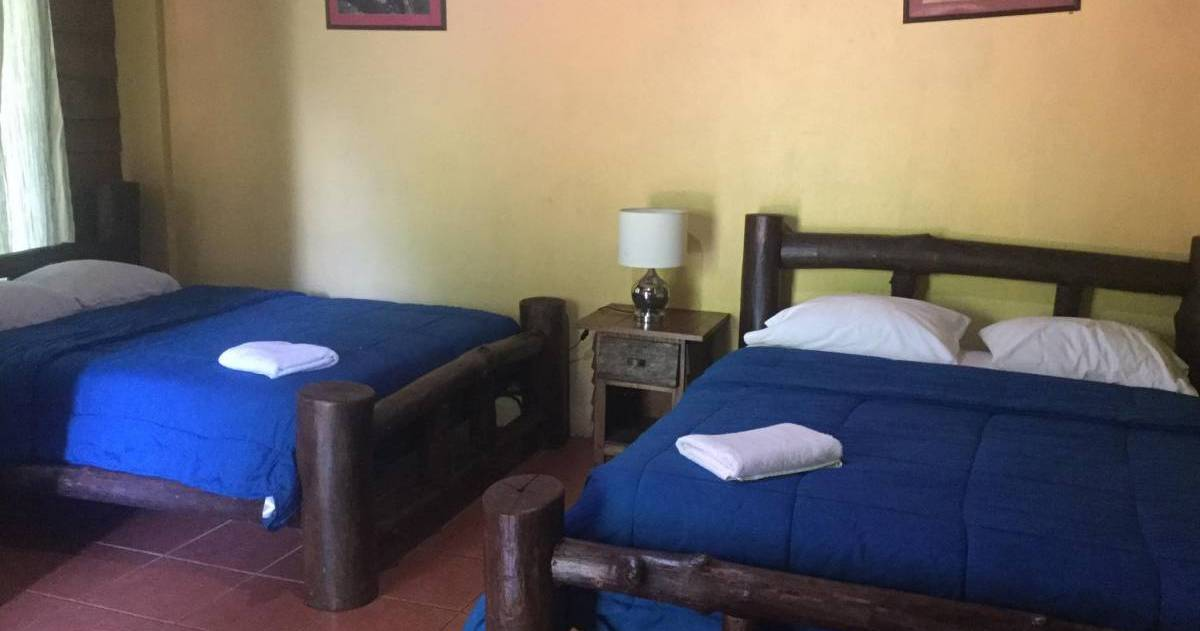 Make cheap reservations at a hotel like Hacienda Coopeagri