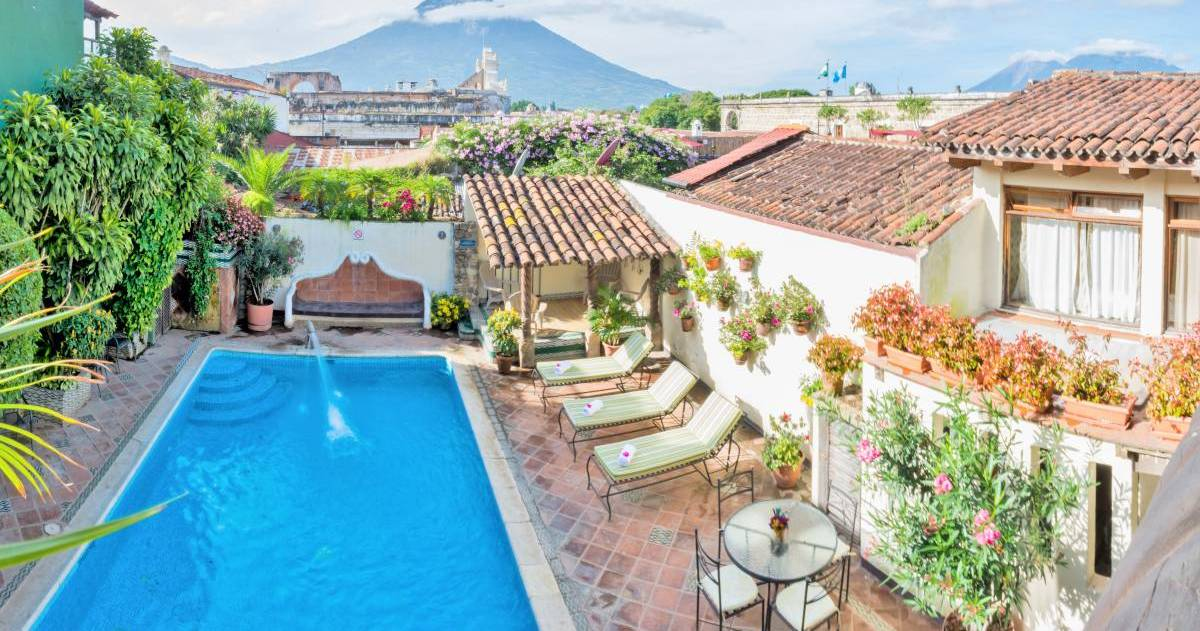 cheap hotels in Antigua Guatemala